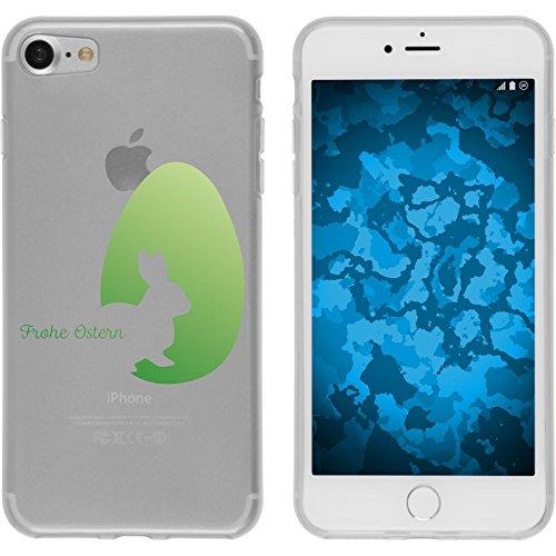 PhoneNatic Apple iPhone 8 Plus Custodia in Silicone M2 Case iPhone 8 Plus + pellicola protettiva Disign:02