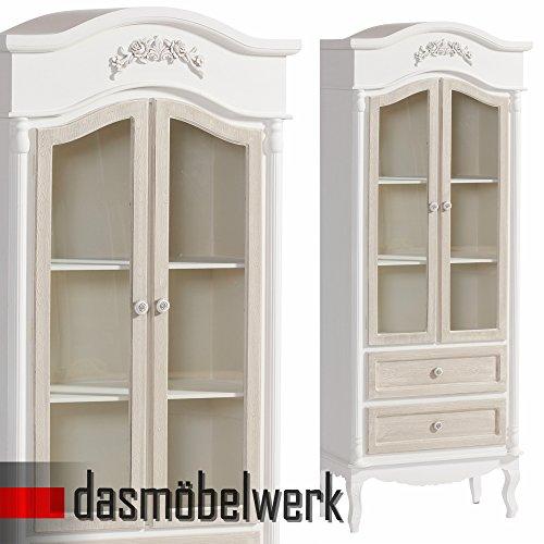 dasmöbelwerk Glasvitrine Highboard Vitrinenschrank Kommode Schrank Anrichte Barock 05.016.01