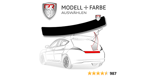 Pr Folia Ladekantenschutz Vitara Typ Ly Ab Bj 2015 Schwarz Stoßstangenschutz Folie Lackschutzfolie Auto