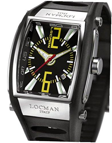 Locman 026100BKNYL5BKK_wt Montre à bracelet unisexe