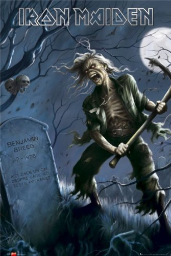 Iron Maiden Poster–Benjamin Breeg–Hot New 24x 36