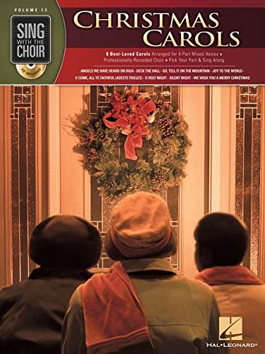 Sing With The Choir Volume 13  Christmas Carols Chor Book/Cd
