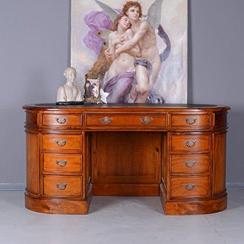 Englischer Kidney Schreibtisch Regency Desk Schreibmöbel Mahagoni Palazzo Exklusiv -