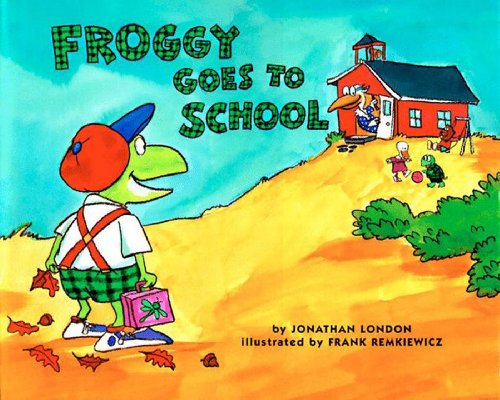 Froggy Goes to School (English Edition)