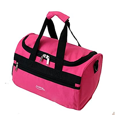 Super Lightweight Ryanair Compliant Second Hand Luggage Cabin Travel Bag Fits 35 x 20 x 20cm (Pink)
