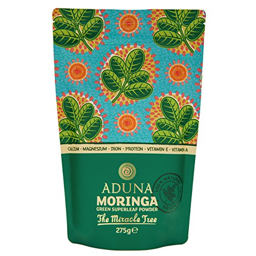 Aduna Organic Moringa Superleaf Powder 275g (275g)