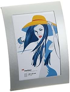 Walther TP015S Basixx Portraitrahmen, 10 x 15 cm sliber