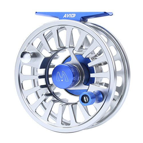 Maxcatch Avid Flugangelrolle Aluminium Fliegenfisch 3/4,5/6,7/8wt Fliegenrolle (Model 02, 7/8 weight)