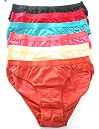 d43c1fa059e3 Nohunt Women's Cotton Hipster Bikini, Panty Lingerie Women Panty (Pack of 6)