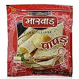 Marwar Moong Daal Punjabi Papad (Handmade, High Spicy & Rajasthani Flavor) 400g Zipper Pack