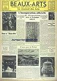 Telecharger Livres BEAUX ARTS No 230 du 28 05 1937 L INAUGURATION OFFICIELLE DE L EXPOSITION ARTSET TECHNIQUE 37 SUZANNE TISSIER RECOIT LE PRIX DES VIKINGS GRECO A BEAUX ARTS AU THEATRE MONTANSIER A VERSAILLES L OEUVRE GRAVE DE FRELAUT BRONZES CHINOIS AU MUSEE CERNUSCHI (PDF,EPUB,MOBI) gratuits en Francaise