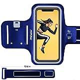 Als Geschenkidee zu Weihnachten bestellen Für Triathleten - Mpow Schweißfest Handy Armtasche für iPhone 5/5S/5C/SE, Oberarmtasche mit Schlüsselhalter, Verlängerungsband und reflekltierendes Band, Sportarmband hülle für Wandern Reiten Laufen Jogging Workout