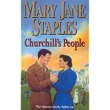 Churchill's People: An Adams Family Saga Novel (The Adams Family)