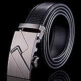 MILUOTA] Echtes Leder gürtel für männer Marke männer gürtel Metall gürtel Automatische Schnalle Mode ceintures Homme WN020