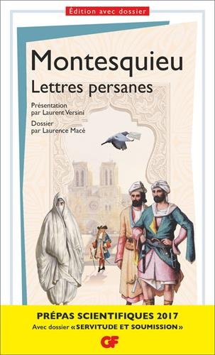 Lettres persanes - Prépas scientifiques 2016-2017