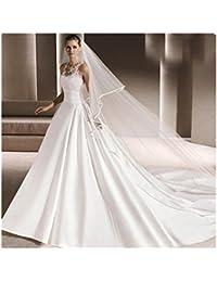 39031c16ba95 Vestito da cerimonia nuziale nuziale di cerimonia nuziale di Tiers doppio  strati di lunghezza molle di