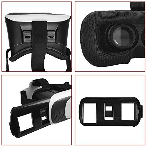 Vr Box Gafas Realidad Virtual 3d Juegos Peliculas Compatibles