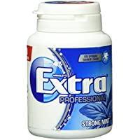Wrigley's Extra Professional Strong Mint Dose, 50 Dragees, 4er Pack (4 x 50 Dragees)