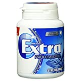 Wrigley's Extra Professional Strong Mint Dose, 50 Dragees, 4er Pack (4 x 50...