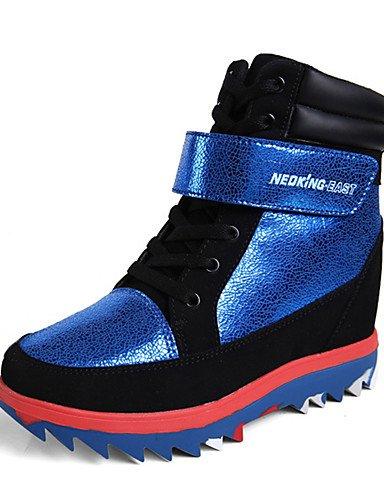 xzz/Damen Stiefel Frühjahr/Herbst/Winter Roller Skate Schuhe/Komfort/Schuhe & passenden Taschen/, gray-us9 / eu40 / uk7 / cn41 (Tennis-schuhe Rollschuhe)
