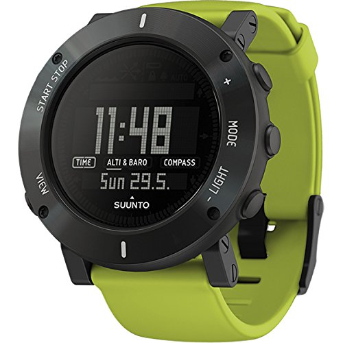Suunto Men's Core SS020693000 Green Rubber Quartz Sport Watch