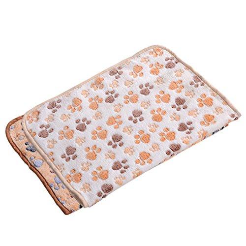 Demarkt Weiche Hundedecke Katzendecke Haustier Hund Katze Decke Haustier weiche warme Schlafmatte Muster A