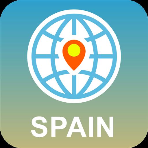 España Mapa Desconectado