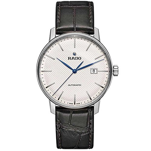 RADO COUPOLE Classic Herren-Armbanduhr 41MM Armband Leder AUTOMATIK R22876015