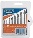 Draper Expert 48221 Glas- und Fliesenbohrer, 8-teiliges Set