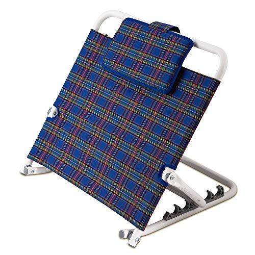 maxVitalis Rückenstütze 5-Fach verstellbar, Bequeme und sichere Rückenlehne für Bett und Sofa