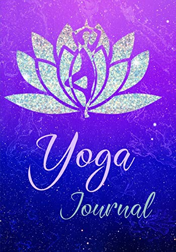 Yoga Journal: Wide Ruled Daily Planer Diary Log Notebook