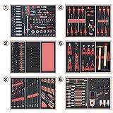 KS TOOLS 714.0425 Composition d'outils 6 tiroirs pour servante, 429 pièces