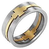 Willis Judd Herren-Ring Titan, mit Puzzle-Optik, in kostenloser Geschenkbox