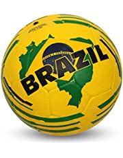 NIVIA Country Color Molded Football Size 3 - Brasil