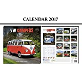 VW CAMPERS CALENDRIER 2017