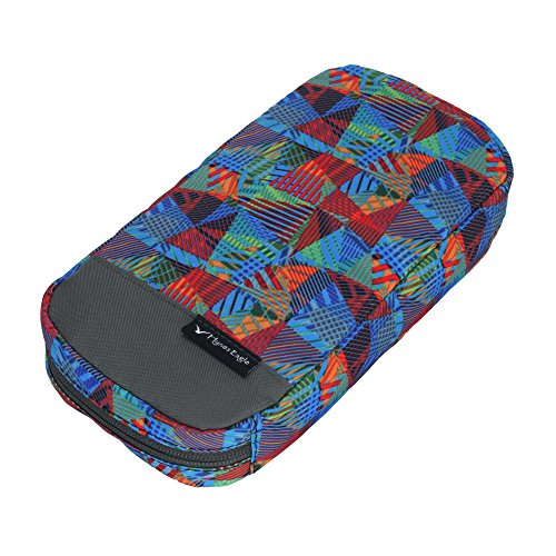 Veevan-Pop-Art-Family-Travel-Accessory-Pouch-Electronic-Gadget-Super-Organiser-Silhouette