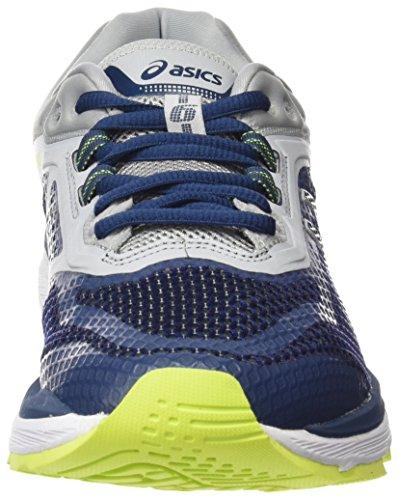 Asics Gt-2000 6, Chaussures de Running Homme, Noir Bleu (Dark Blue/Dark Blue/Mid Grey 4949)