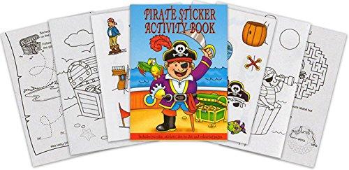 Pirate Mini Sticker Activity Book (Packung mit (Begünstigt Partei Piraten)