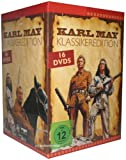 Karl May & Winnetou Klassiker DVD Box Edition mit 16 DVDs