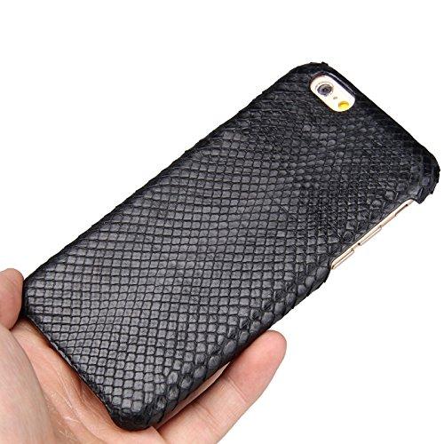 Coque de Luxe pour iPhone 6/6S UU & T [Python] en cuir véritable–