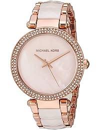 Michael Kors Women's Parker Rose Gold-Tone Watch MK6402