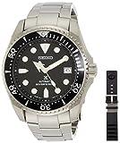 Seiko Herren-Armbanduhr 44mm Armband Edelstahl Gehäuse Titan Automatik SBDC029