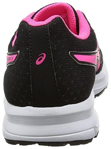 Asics Patriot 8, Scarpe da Corsa Donna Nero (Black/Hot Pink/White)