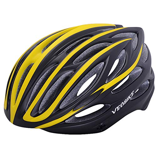wthfwm Erwachsenen Fahrradhelm Mountainbike Helm Rennradhelm Inline Skate Roller Helm Smart Fahrradhelm,D-57/62cm