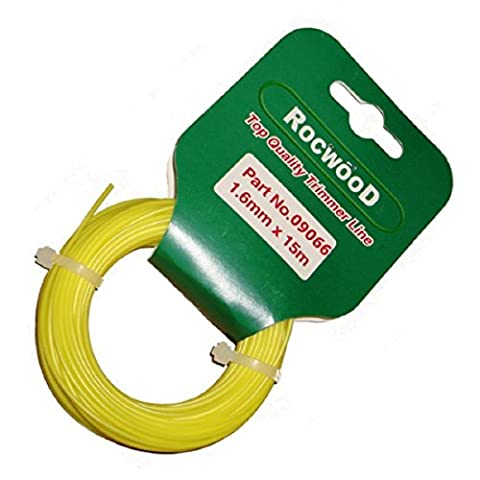 Nylon Strimmer Line Wire Cord 1.6mm x 15 M Metres