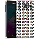 Samsung Galaxy A3 (2016) Housse Étui Protection Coque Lunettes hipster Hipster