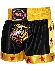 De BOXE Muay Thaï Kick courtes Tigre