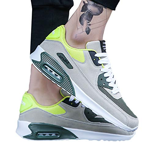 Scarpe per correre running sportive,sneakers uomo elegante,stivali da equitazione,yanhoo casual da uomo con punta arrotondata e scarpe da ginnastica in mesh traspirante