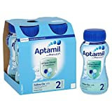 Aptamil 2 Follow On Milk Multipack 4X200ml Ready To Feed Liquid