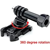 360 Degree Rotation Quick Release Buckle Base Adapter Mount Screw For SJCAM SJ4000 Gopro Accessories
